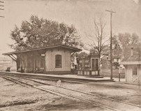 Moorestown train station
