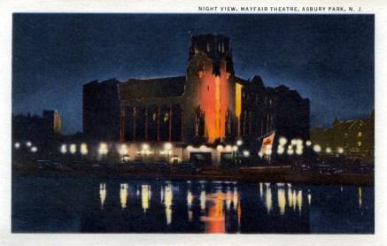Night View, Mayfair Theater, Asbury Park, NJ
