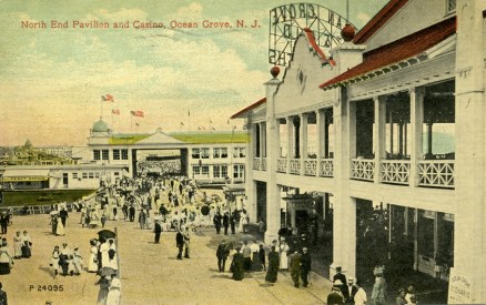 North End Pavilion and Casino, Ocean Grove, NJ 1912
