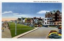Ocean Ave, & Boardwalk, Asbury Park, NJ