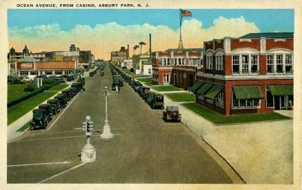 Ocean Avenue from Casino, Asbury Park, NJ