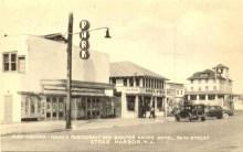 Park Theatre, Hahn's Restaurant, Shelter Haven Hotel, Stone Harbor, NJ