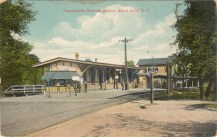 Pennsylvania Railroad Station, Mt. Holly, NJ