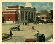 Railroad Station, Asbury Park, NJ