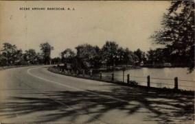 Scene Around Rancocas, NJ 1957