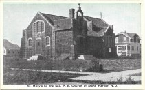 St. Mary's by the Sea, P. E. Church of Stone Harbor, N.J, c early 1920s