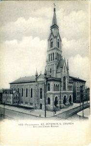St. Peter's Church, Philadelphia, PA 1906