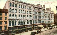 Strawbridge and Clothier Department Store, Philadelphia, PA 1911