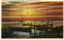 Sunset on Little Egg Harbor Bay, Long Beach Island, NJ