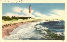 Surf at Barnegat Light, NJ