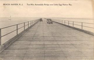 Two-Mile Automobile Bridge Over Little Egg Harbor Bay, Beach Haven, NJ