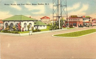 Water Works and Post Office, Stone Harbor, NJ