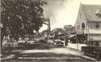 West Main Street, Business Section, Moorestown, NJ