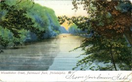 Wissahickon Creek, Fairmount Park, Philadelphia, PA 1907