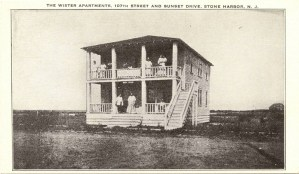 Wister Apartments, 107th St. and Sunset Dr., Stone Harbor, NJ