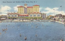 Hotel Flanders and outdoor pools, Ocean City, NJ