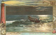 1909 Life-boat on the Crest