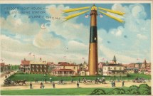 Absecom Light House and US Life Saving Station, Atlantic City, NJ