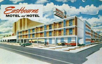 Eastbourne Motel and Hotel, Pacific and Indiana Aves., Atlantic City, NJ
