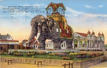 Elephant Hotel, Margate City, An Old Landmark, Atlantic City, NJ 1937