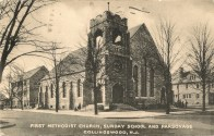 First Methodist Church, Sunday School and Parsonage, Collingswood, NJ