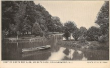 Part of Grove and Lake, Knight's Park, Collingswood, NJ