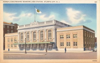 Pennsylvania-Reading Seashore Lines Station, Atlantic City, NJ
