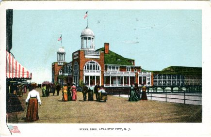 Steel Pier, Atlantic City, NJ 1907