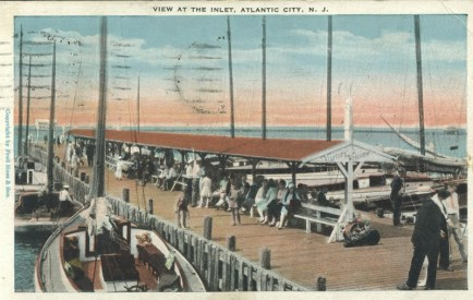 View at The Inlet, Atlantic City, NJ 1929
