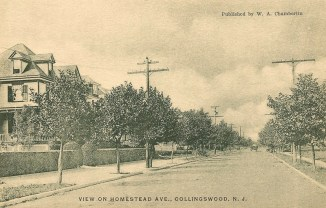 View on Homestead Ave., Collingswood, NJ