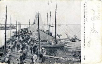 Yachting Pier at Inlet, Atlantic City, NJ 1906