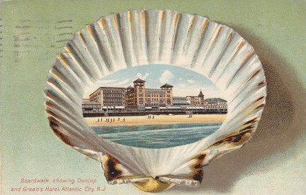 Boardwalk showing Dunlop & Green's Hotel