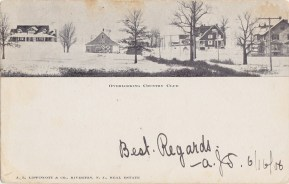 Overlooking Country Club 1906