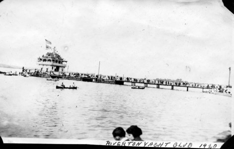 Riverton Yacht Club 1920