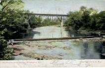 Washington Street Bridge, Wilmington, Delaware 1907