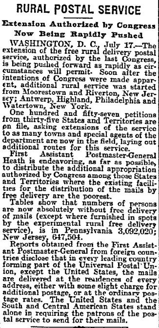 Philadelphia Inquirer, July. 18, 1898