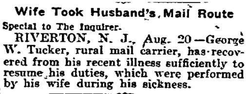 Philadelphia Inquirer, August 21, 1905