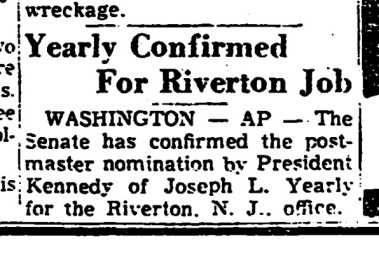 Trenton Evening Times, Sept. 5, 1961