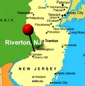 riverton NJ map