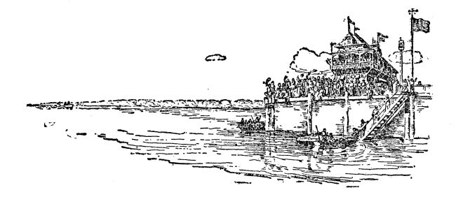Yacht Club illustration from Reddy by Mary Biddle Fitler 1929