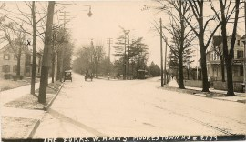 Forks of Road, Moorestown, NJ c.1907