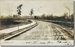 Boulevard Forest Hill Park August 17, 1908 postmark