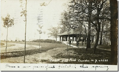 Forest Hill Park, Camden, NJ, May 20, 1908 postmark
