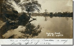 This is Cooper Creek, Forest Hills Park c.1910, not mailed
