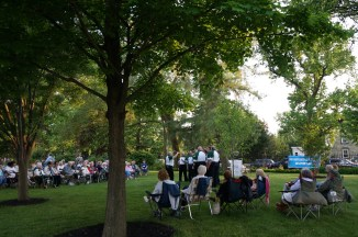 Everyone had a front row seat to this free concert co-sponsored by Riverview Estates and the HSR