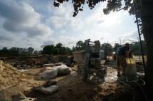 Grandstand construction 06-28-2013 03