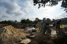 Grandstand construction 06-28-2013 04