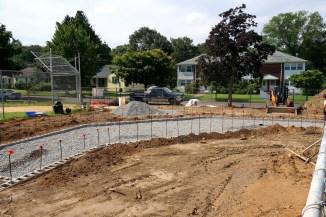 Grandstand construction 07-08-2013 06