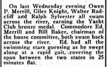 Swim to Phila, New Era, June 24, 1921, p2