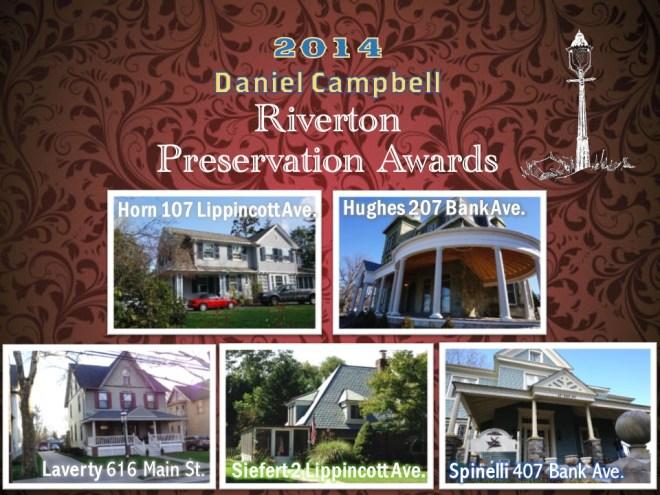 2014 Preservation Award Recipients